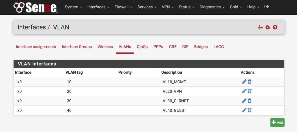 pfSense 2 3 setup with AirVPN, DNS Resolver and VLANs