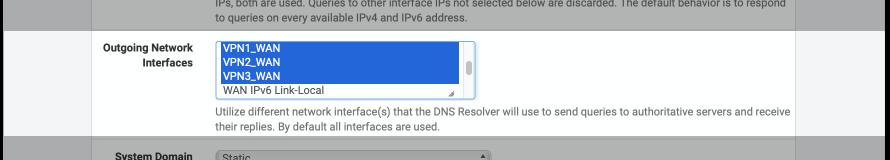pfSense multi VPN WAN