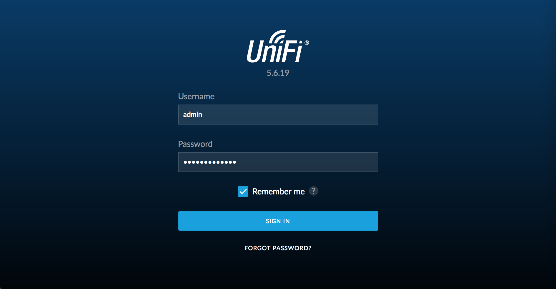 Ubiquiti Unifi setup