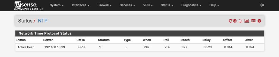 Local stratum-1 NTP server